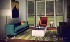 Avec Living Room by KiaraRawks - Sims 3 Downloads CC Caboodle