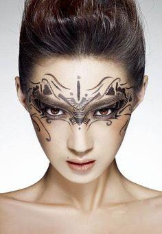 Whoa, Creative Makeup, Eyeliner, Symbols