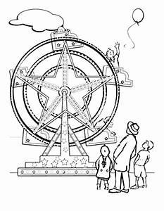 Ferris wheel coloring pages ~ ferris wheels, coloring sheets - Yahoo Image Search ...