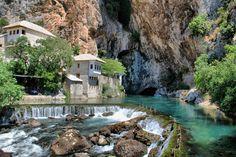 buna river spring, bosnia and herzegovina photo