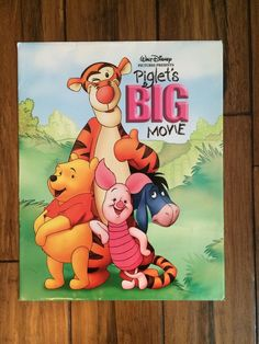 Walt Disney Piglet 039 s Big Movie Exclusive Commemorative Disney Store Lithograph | eBay