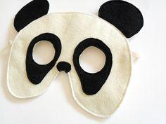 Panda Bear Felt Mask