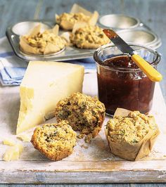 These savoury carrot and coriander muffins are super quick to make and would be delicious served with a bowl of soup or with cheese and chutney.