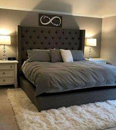 40 Newest Farmhouse Master Bedroom Design Ideas That Looks Cool Home Decor Bedroom, Bedroom Design Trends, Farmhouse Master Bedroom, Bedroom Makeover, Master Bedrooms Decor, Bedroom Decor, Bedroom Sets, Remodel Bedroom, Luxurious Bedrooms