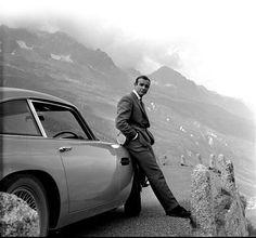 Sean Connery & The Aston Martin DB5