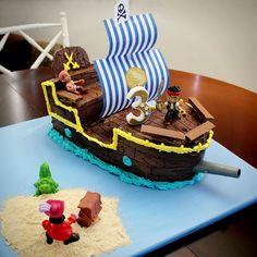 My Jake and the Neverland Pirates Bucky cake.