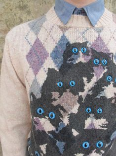 Creepy Kitty Sweater