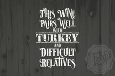 Thanksgiving images, Wine cutting file, Wine SVG DXF PNG, Cutting File, Printable By Ever So Pretty Designs