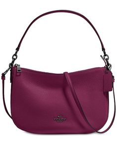 e9aad4e71cee8 COACH Chelsea Crossbody in Pebble Leather Handbags   Accessories - Macy s