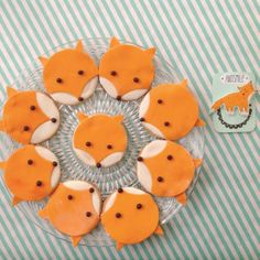 fox cookies by mikodesign www.mikodesign.blogpost.com