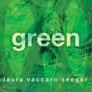 Green by Laura Vaccaro Seeger . Use this book to invite  voracious vocabulary learning about colors.  It was one of our favorite books of 2012.