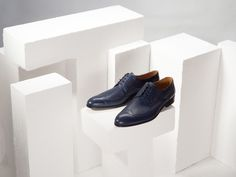 Spring and Summer blues. #leathershoes #mensshoes #genuineleather