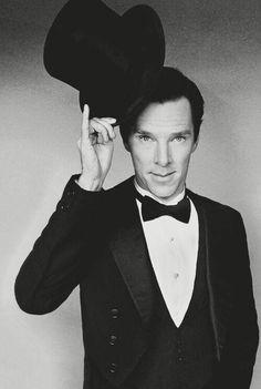 Benedict Cumberbatch. Um... wow.