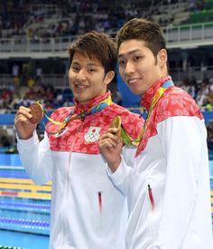 競泳男子400m個人メドレーで銅メダルを手にした瀬戸大也選手。萩野選手とともに日本人のダブル表彰台となりました!2016 リオデジャネイロオリンピック・リオ五輪