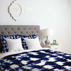Jacqueline Maldonado Parallel Duvet Cover | DENY Designs Home Accessories