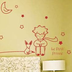 Small Little Prince Children Kids Nursery Wall Stickers/Wall Decals/Wall Transfers/Wall Tattoo--60*70cm: Amazon.co.uk: Kitchen & Home