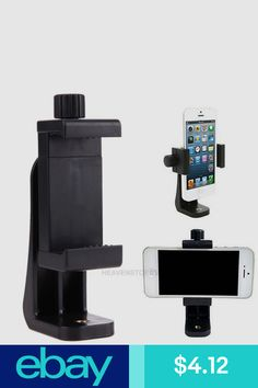 Mobilephone Clip Holder Black ABS Photography Phone Tripod Screw Mount Stabilizer Celular Stand Monopod with Screw Smartphone Holder, Cell Phone Holder, Cell Phone Mount, Phone Tripod, Phone Clip, Portable, E Bay, Montage, Cell Phone Accessories