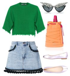 """""""Untitled #2836"""" by moxieremon on Polyvore featuring Sergio Rossi, Marc Jacobs, Valentino and Marina Hoermanseder"""