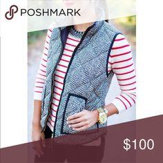 Reserved Herringbone woven vest Jackets & Coats Vests