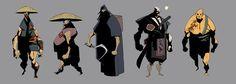 samurai concepts by ~EduardVisan