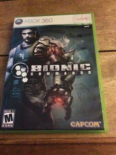 Bionic Commando Xbox 360 Video Game MUST PLAY #xbox360, #xbox, #Bioniccommando, #videogame, #ebay