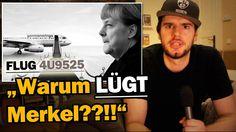 """""""Flug 4U9525 - Warum LÜGT Merkel??!!"""" [ARMES DEUTSCHLAND]"""
