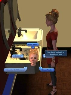 Whenever your Sim was literally too lazy to function. | The 29 Weirdest Things Ever To Happen When Playing The Sims