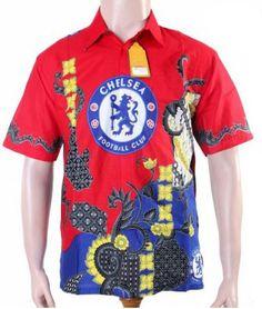 Kemeja Batik Bola Barcelona BBB4593  Baju Batik  Pinterest