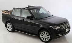 2013 NCE Range Rover Cabriolet by Newport Convertible Engineering #rangerover #convertible #tuning