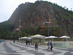 Morro, Praia Copacabana