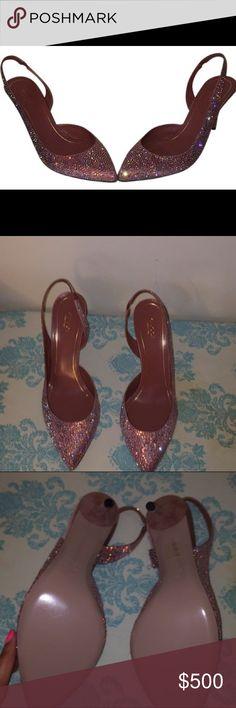 Gucci Dessert Rose Slingback Pumps Size 10 Gucci Shoes Heels
