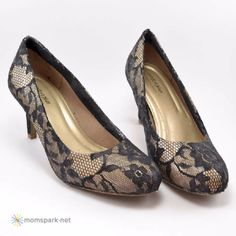 DIY Shoe Makeovers - Lace Heels Tutorial - Cool Ways to Update, Decorate, Paint, Bedazle and Add Sparkle to Your Flats, Pumps, Tennis Shoes, Boots and Boring Shoes - Cool Crafts and DIY Shoe Ideas for Teens and Adults http://diyprojectsforteens.com/diy-shoe-makeovers