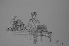 Sketch James Holden Live from Daan van Velsen