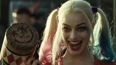 Margot Robbie's Harley Quinn strips to her underwear in Sucide Squad trailer