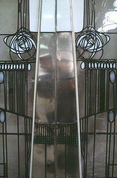 Charles Rennie Mackintosh Stained Glass Doors