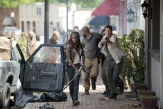"""Glenn, Michonne, Nicholas 