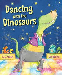 "Read ""Dance Together Dinosaurs"" by Jane Clarke available from Rakuten Kobo. This fantastic rhyming romp is a magical mix of dinosaurs and dancing competitions. Each type of dinosaur has its own da. Dinosaur Theme Preschool, Dinosaur Activities, Dinosaur Crafts, Preschool Books, Dinosaur Party, Dinosaur Birthday, Toddler Preschool, Book Activities, Dinosaur Classroom"