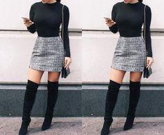 Look Fashion, Fashion Beauty, Girl Fashion, Fashion Ideas, Womens Fashion, Fashion Trends, Preppy Outfits, Cute Outfits, Stylish Outfits