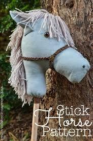 Risultati immagini per stick horse pattern