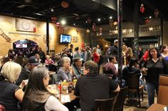 Great food and atmosphere at Old Texas Brewing Company in Old Town District Burleson, Texas. Photo taken by Cindy Benjamin Redemann