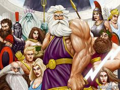 Greek Myths Facts | You MUST select either an Olympian god or a Titan. Be sure to check ...