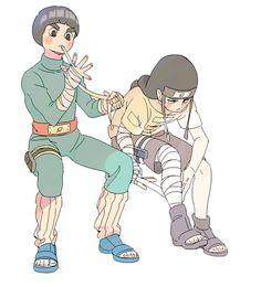 Manga Cosplay Neji e Rock Lee - bandage! Naruto Uzumaki, Neji And Tenten, Naruto Gaiden, Naruto Anime, Naruto Comic, Naruto Cute, Shikamaru, Gaara, Boruto