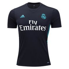 70f397378 adidas Men s Real Madrid 17 18 Away Jersey Black