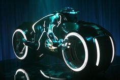 If you have the money, you can own a real, fully operational Tron Legacy Light Cycle. Concept Motorcycles, Cool Motorcycles, Bobbers, Rat Rods, Tron Legacy 2, Tron Light Cycle, Tron Bike, Cruisers, Badass Movie
