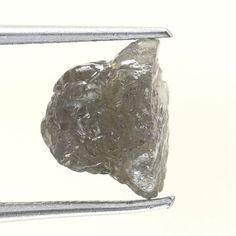 2.35 Carats GRayish Natural Uncut Raw ROUGH DIAMOND