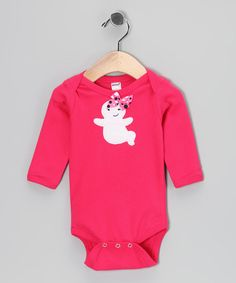Take a look at the Petunia Petals Fuchsia Ghost Bodysuit - Infant on #zulily today!