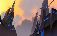 Clone Wars BG painting byt Scott Willis
