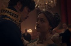 Well, Tom Hughes does look good with a moustache! Last night's episode of Victoria on ITV saw the young monarch (Jenna Coleman) finally have her head turned by Prince Albert (Hughes)