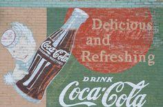 Coca-Cola ad in North Branch, MN