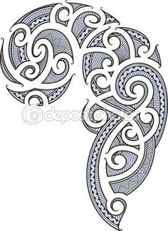 maori Tattoo Designs | maori tattoo design — Stock Vector © Artem Efimov #8899109
